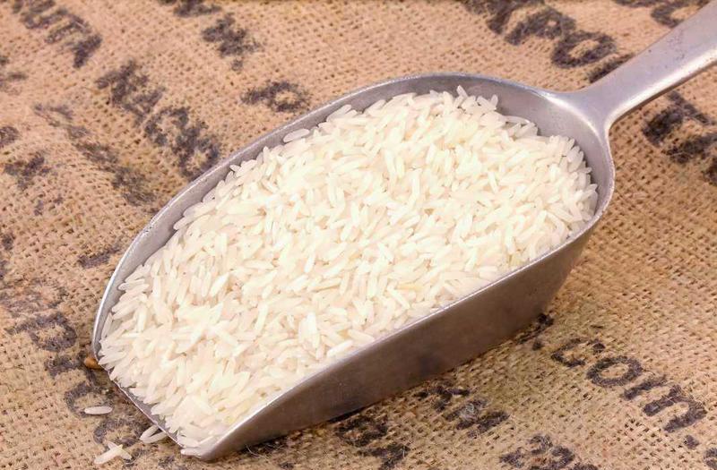 balti ryžiai