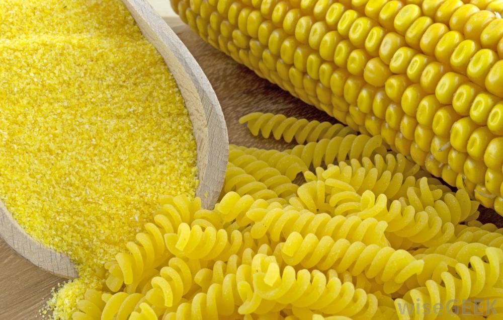 kukurūzų makaronai